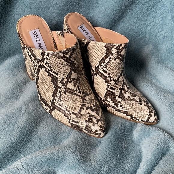 Steve Madden animal print shoes